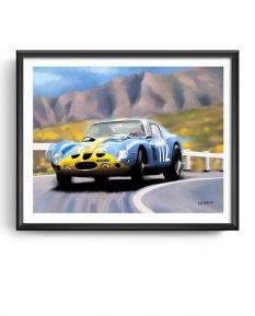 Ferrari-250-GTO-Targa-Florio-framed-art