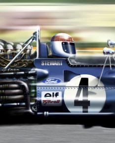 Jackie Stewart Tyrell 003_detail