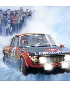 Lancia-Fulvia-Rally-art