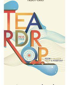 Talbot-Lago-Teardrop-Art-1-nonframed