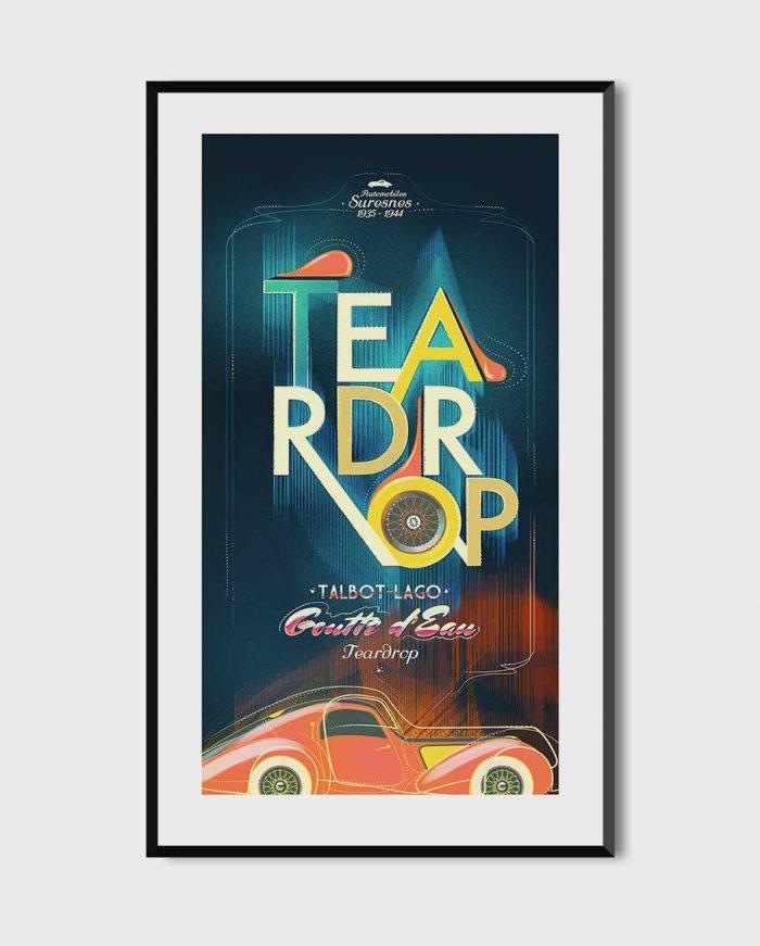 Talbot-Lago poster art