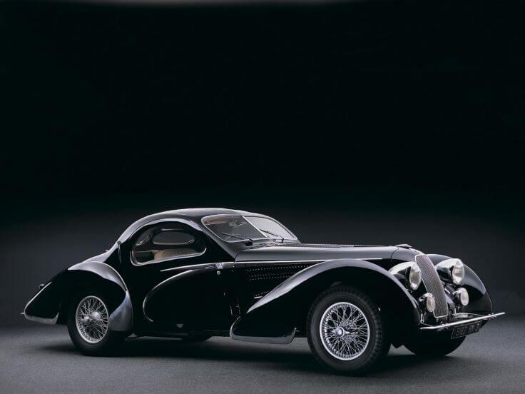 1938-Talbot Lago-T150 C Teardrop Coupe-Figoni Falaschi