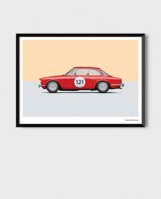 Alfa-Romeo-GTV-2000_art-print-framed
