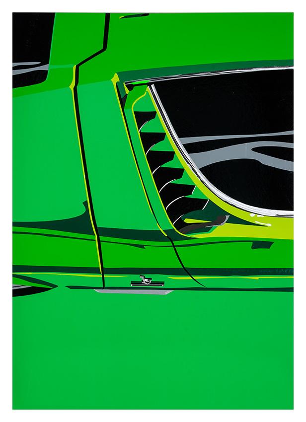 Lamborghini Miura poster