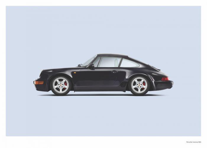 Porsche Carrera 964-artwork-wallart