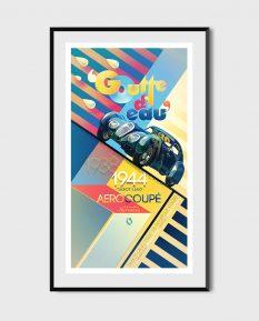 Talbot-Lago_Aerocoupe_poster-art-framed
