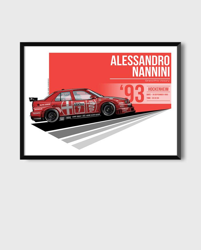 Alfa Romeo 155 DTM art