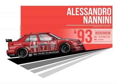 Alfa Romeo 155 V6 Ti DTM art