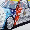 BMW M3 DTM poster