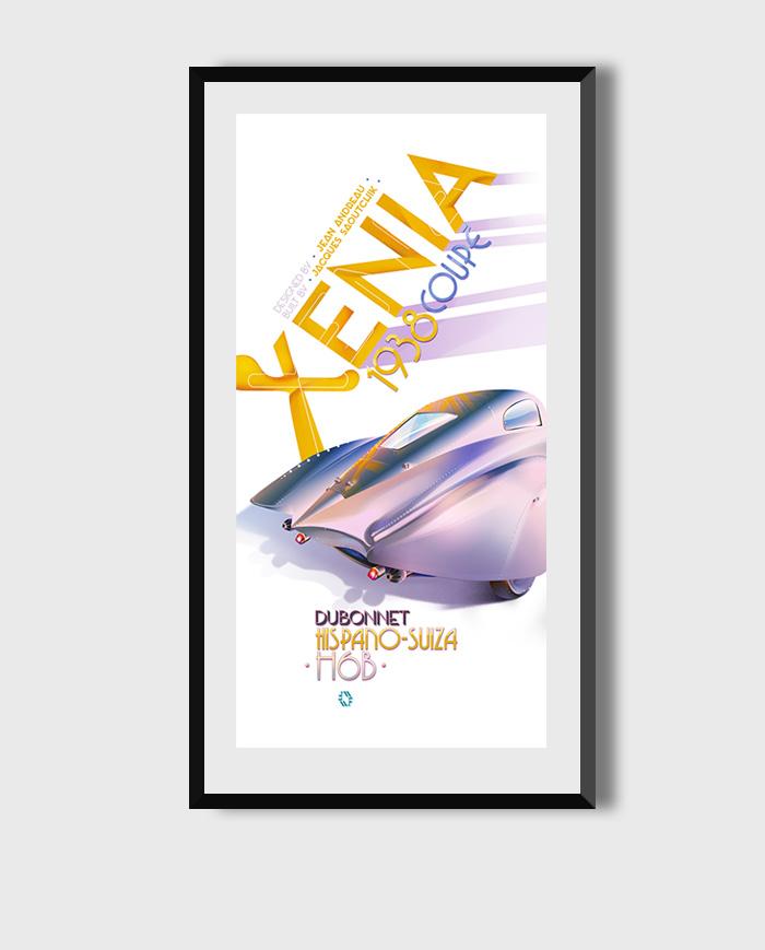 Xenia Dubonnet poster