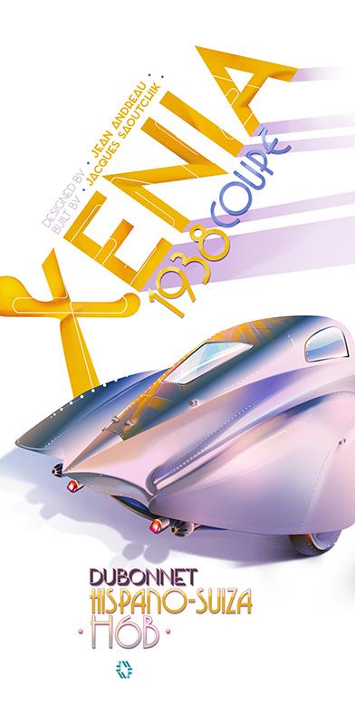 Hispano-Suiza Xenia Dubonnet poster 2