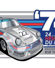 PORSCHE_911_RSR_TURBO-poster-art-print