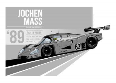 Sauber Mercedes_C9-poster-art