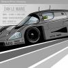 Sauber Mercedes_C9_detail