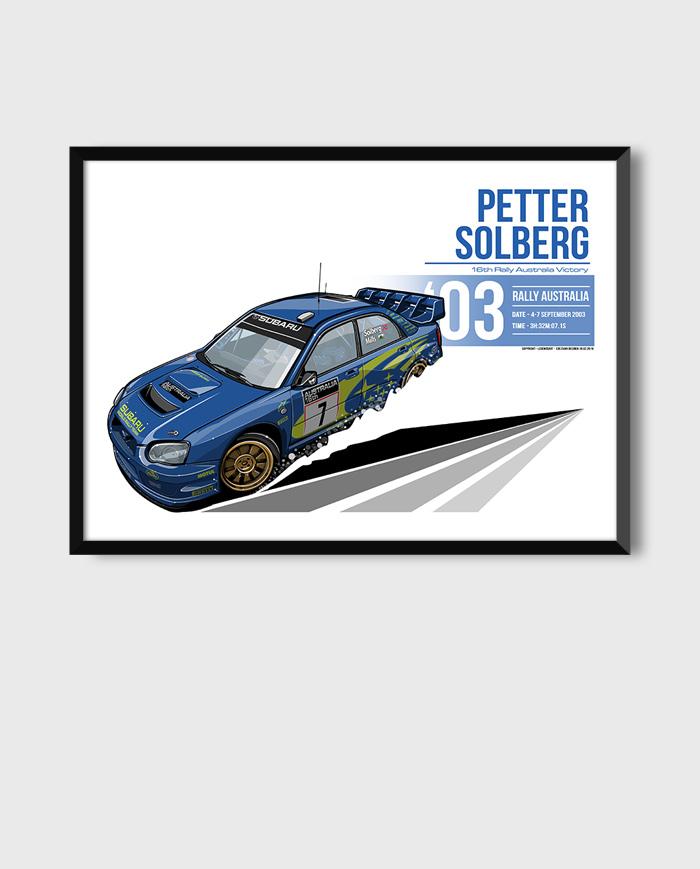 Subaru Impreza WRC art