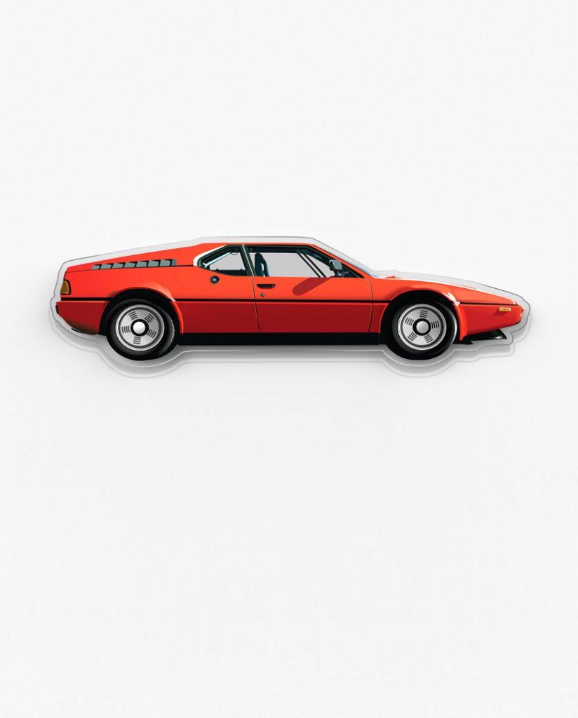 BMW M1 garage art