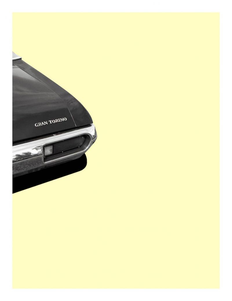 Ford Gran Torino-poster-art