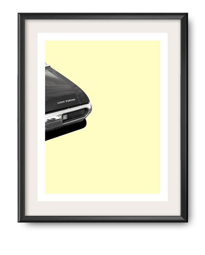 Ford Gran Torino photo art