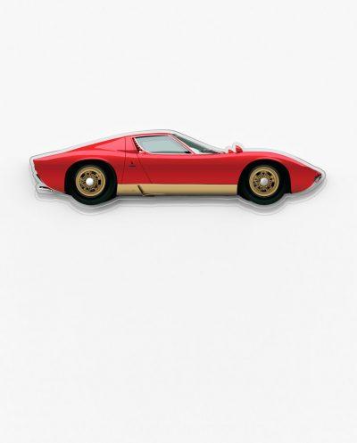 Lamborghini Miura garage art