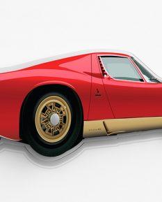 Lamborghini-Miura-silhouette-art-2