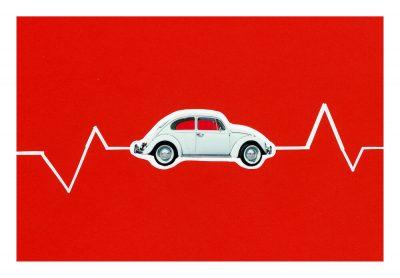 Volkswagen Beetle-poster-art