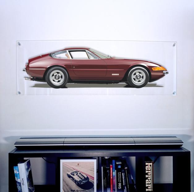Ferrari Daytona art