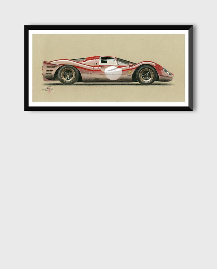 Ferrari 330 P3/4 art