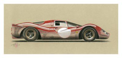 Ferrari-330_P3-4-art