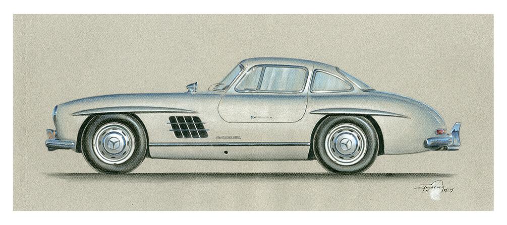 Mercedes-Benz_300-SL-art