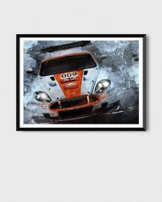 Aston-Martin-DBR9-poster