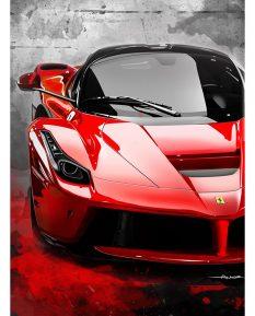 Ferrari-LaFerrari-poster