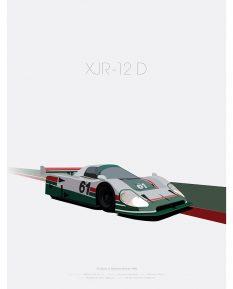 Jaguar-XJR-12D-poster