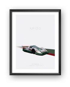 Jaguar-XJR-12D-poster-art