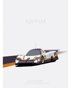 Jaguar-XJR-9LM-poster