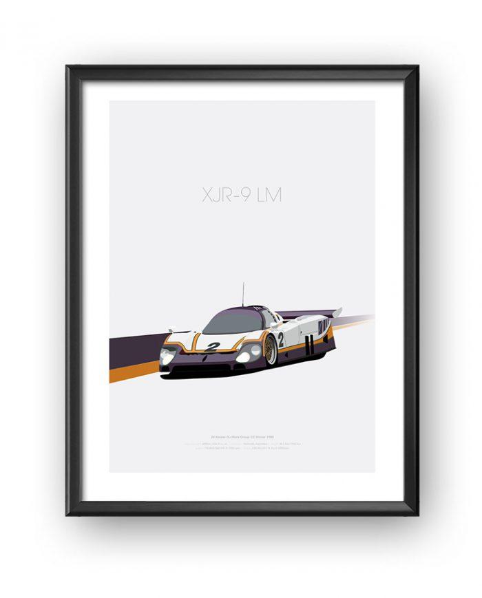 Jaguar XJR-9 LM art