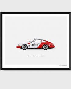 Porsche-911_Marlboro_poster
