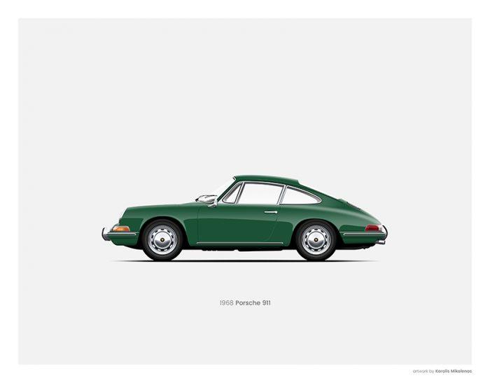 Porsche 911 poster