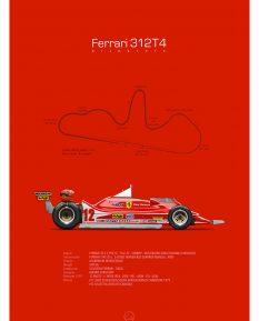 Ferrari-312T4-poster