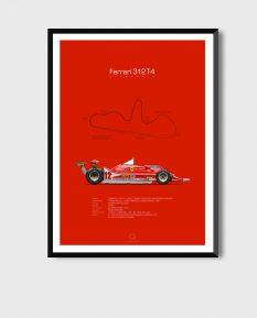 Ferrari-312T4-poster-art