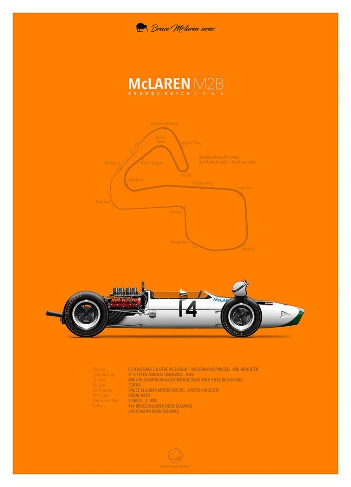 McLaren-M2B-Poster