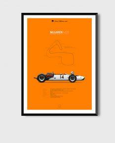 McLaren-M2B-poster-framed