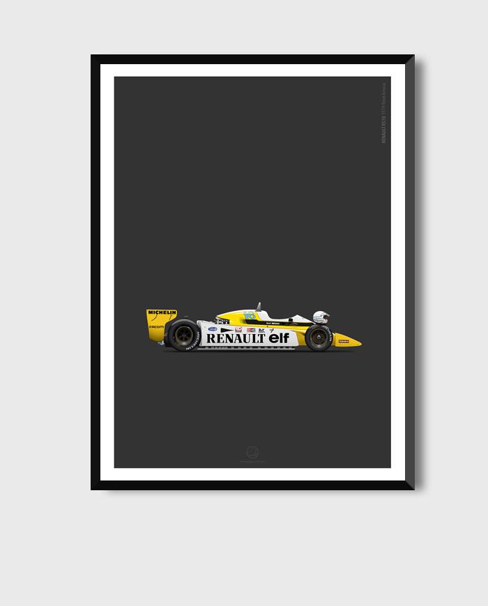 Renault-RS10_poster_framed-art