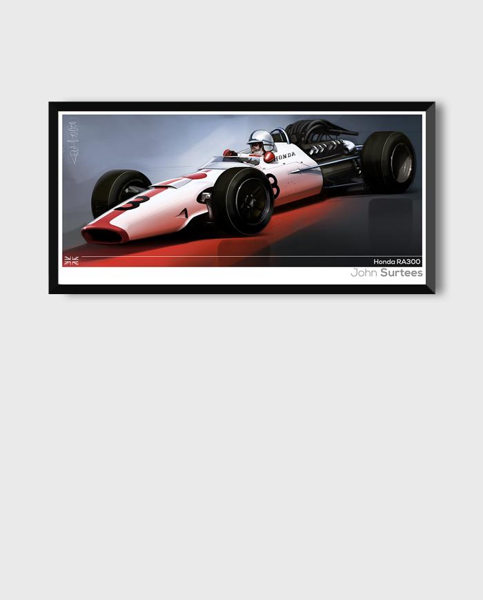 Honda RA300 art