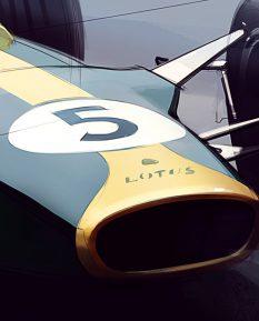 Jim-Clark-Lotus-49-art-2