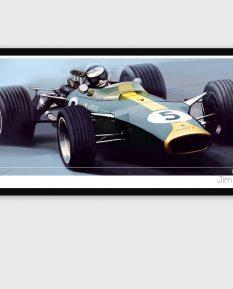 Jim-Clark-Lotus-49-poster-art