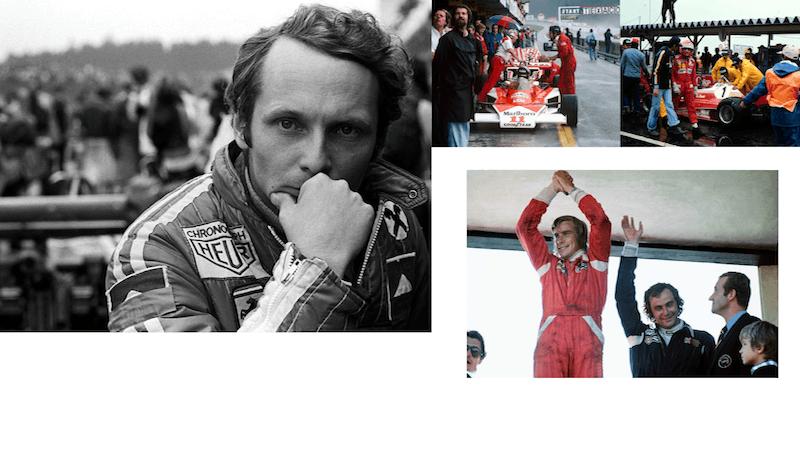 Niki Lauda and James Hunt_simply-petrol_art