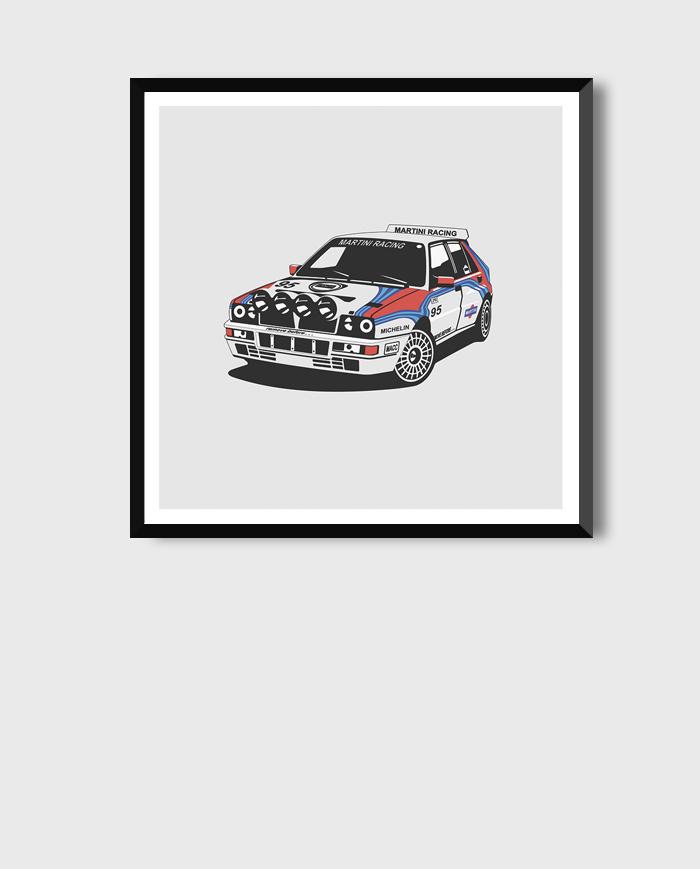 Lancia Delta HF art