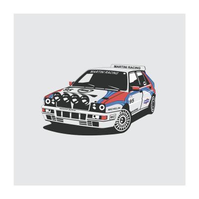 Lancia_Delta-Integrale-art-poster