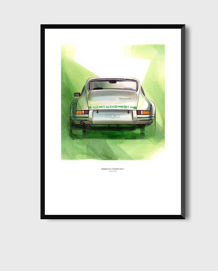 Porsche 911 2.7 Carrera RS art