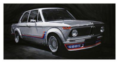 BMW 2002 Turbo art